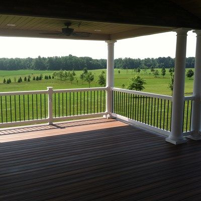 Custom Roofed deck in Upper Freehold NJ - Picture 3232
