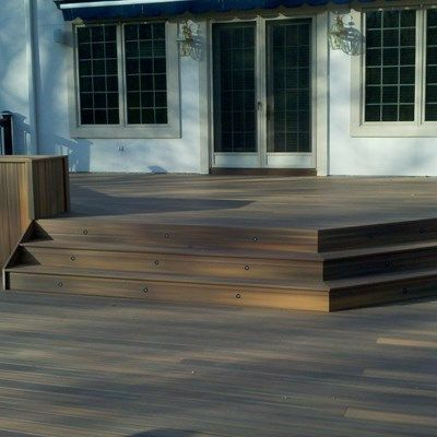 Custom deck in Florham Park N.J. - Picture 3237