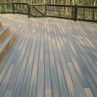 Custom deck in Florham Park N.J. - Picture 3238