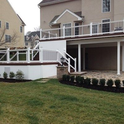 Custom deck in Manalapan NJ - Picture 3241