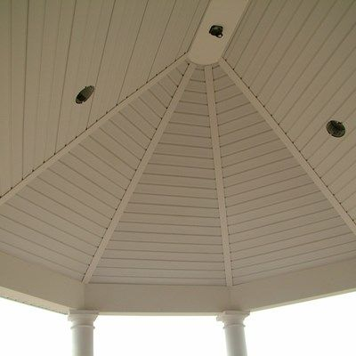 Custom Roofed deck in Upper Freehold NJ - Picture 3247