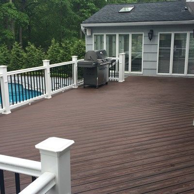 Custom Deck in Marlboro N.J. - Picture 3263