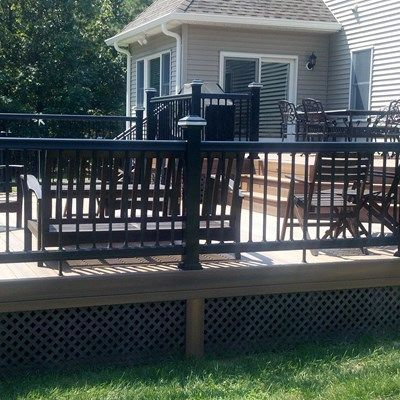 Custom deck in Millstone N.J. - Picture 3285