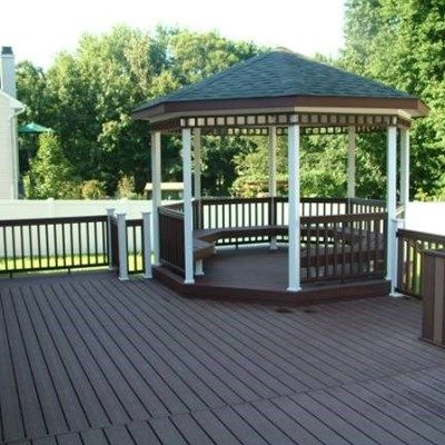 Custom Deck with Gazebo in Hamilton Nj - Picture 3330