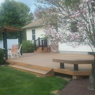 Custom Deck in Freehold N.J. - Picture 3337