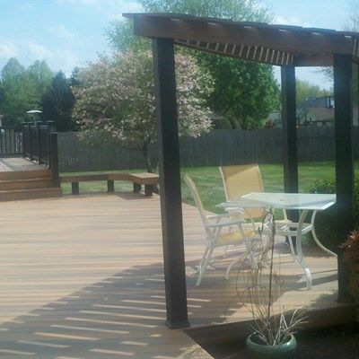 Custom Deck in Freehold N.J. - Picture 3341