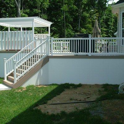 Custom Deck in Monroe NJ - Picture 3345