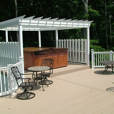Custom Deck in Monroe NJ - Picture 3347
