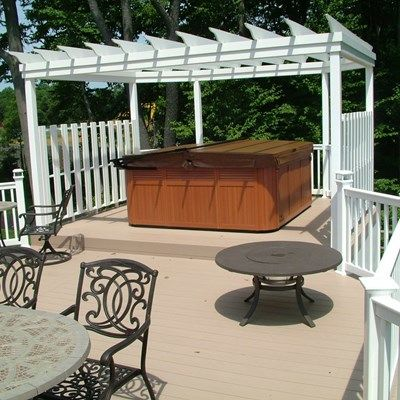 Custom Deck in Monroe NJ - Picture 3348