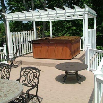 Custom Deck in Monroe NJ - Picture 3348