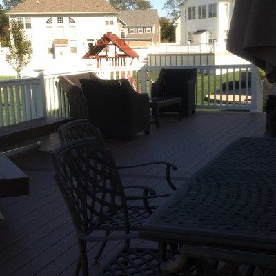 Custom Deck in Manalapan NJ - Picture 3352