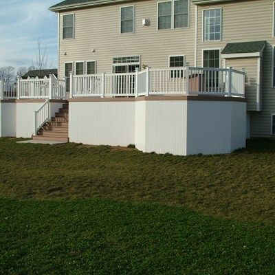 Custom Deck in Morganville N.J. - Picture 3357