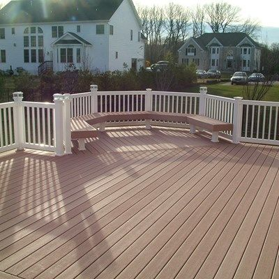 Custom Deck in Morganville N.J. - Picture 3358