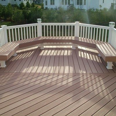 Custom Deck in Morganville N.J. - Picture 3359