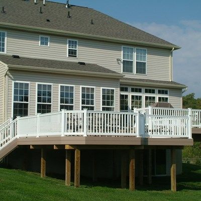 Custom Deck in Cream Ridge NJ - Picture 3362
