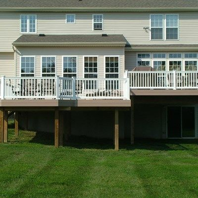 Custom Deck in Cream Ridge NJ - Picture 3363