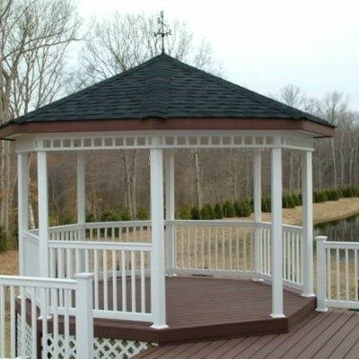 Custom Gazebo deck in Allentown NJ - Picture 3368
