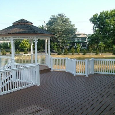 Custom Gazebo deck in Millstone NJ - Picture 3371