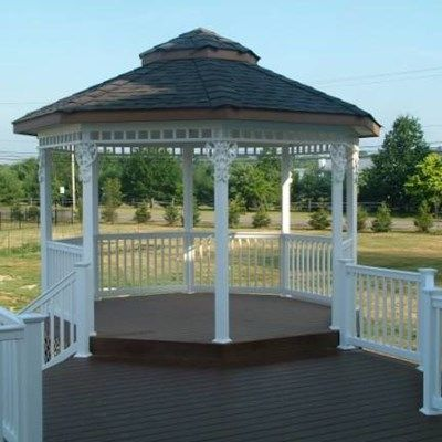 Custom Gazebo deck in Millstone NJ - Picture 3372