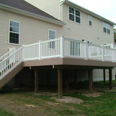 Custom Deck in Marlboro N.J. - Picture 3382