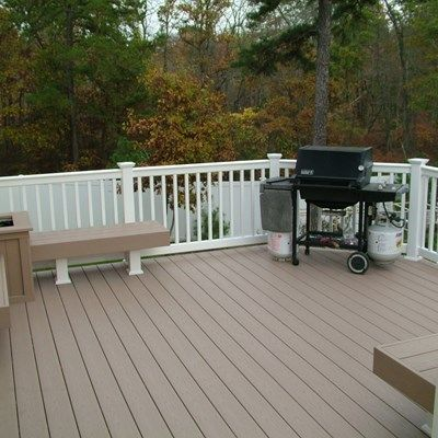 Custom Deck in Marlboro N.J. - Picture 3385