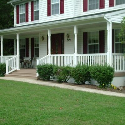 Remolded Porch deck in Plumstead NJ. - Picture 3391