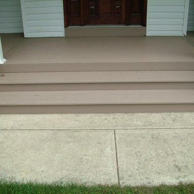 Remolded Porch deck in Plumstead NJ. - Picture 3393