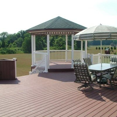 Custom Gazebo deck in Millstone NJ - Picture 3398