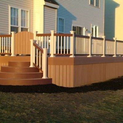Custom Deck in Boardentown NJ - Picture 3402