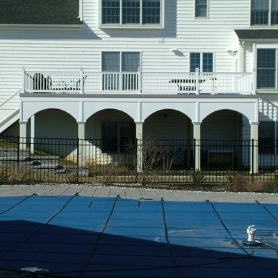 Custom deck with arches in Upper Freehold NJ - Picture 3403