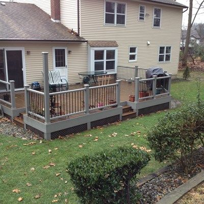 Custom Deck in South Brunswick NJ - Picture 3404