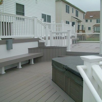 Custom Deck in Monroe NJ - Picture 3407