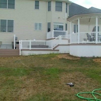 Custom Deck in Marlboro NJ - Picture 3412