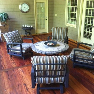 The look of tiger wood decking - Picture 3476