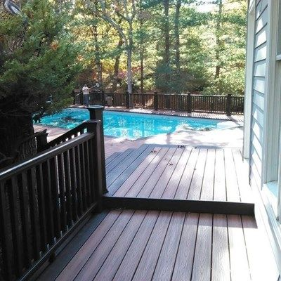 Trex Deck in East Hampton, NY - Picture 3499