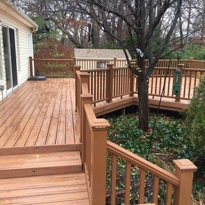 Deck in Commack - Picture 3732