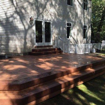 Deck in Farmingville - Picture 3742