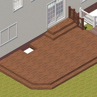 Deck in Farmingville - Picture 3746