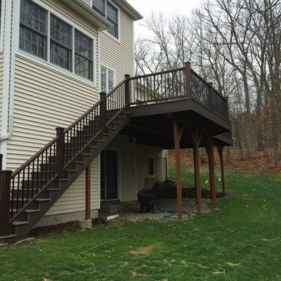 Second Story Deck - Picture 3836