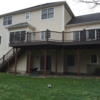 Second Story Deck - Picture 3844