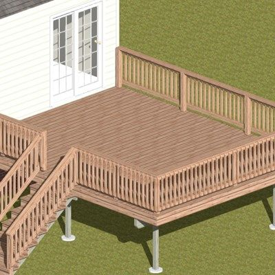 Deck in Deer Park - Picture 4015