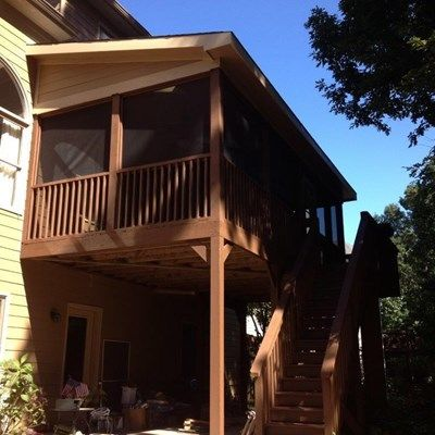 2nd Story Screen Deck - Picture 4067