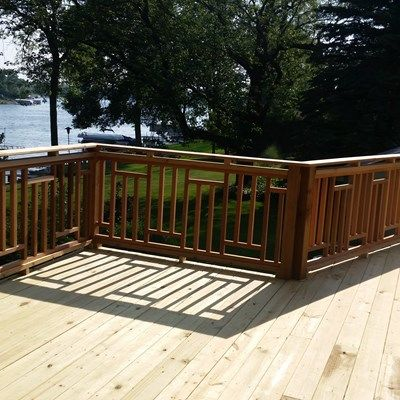 Treated Deck Muskego - Picture 5106