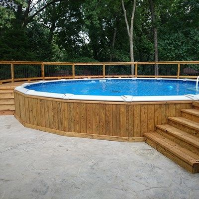 Pressure Treated Deck - Picture 5244