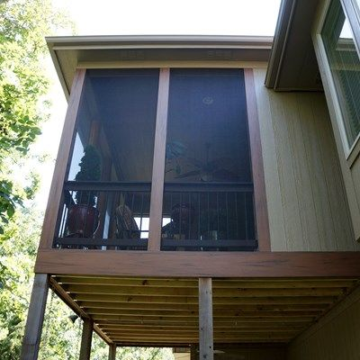 Hip Roof Screened Porch - Picture 5280