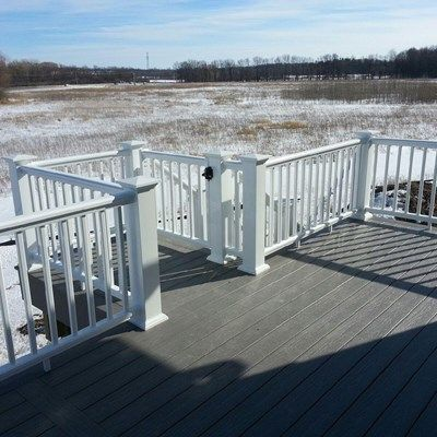 Deck with landing - Picture 6209
