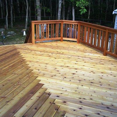Cedar Deck - Picture 6294