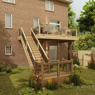 Cedar Deck Design - Picture 6300
