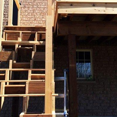Cedar Deck Design - Picture 6302