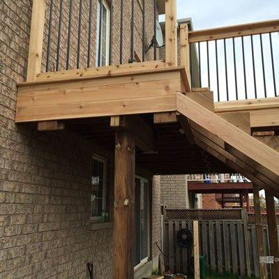 Cedar Deck Design - Picture 6304